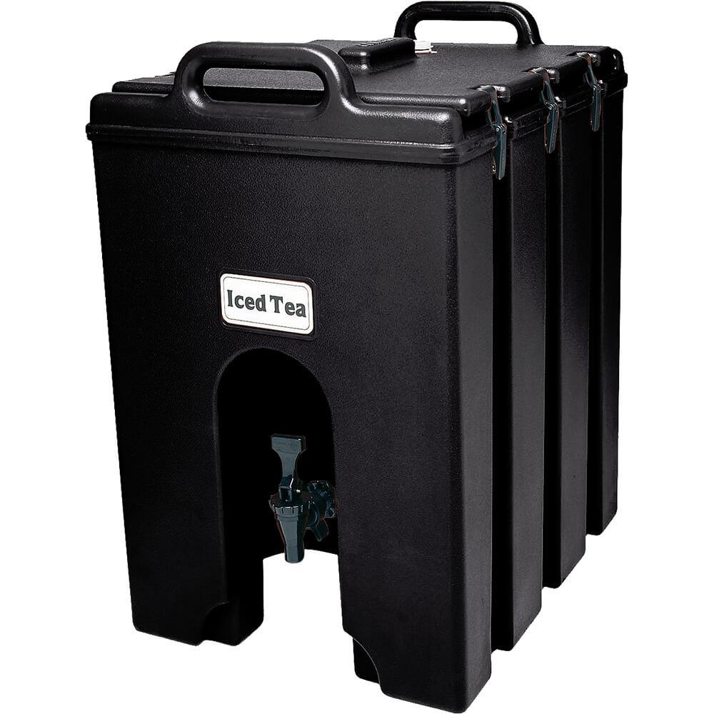 Black, 11.75 Gal. Insulated Beverage Dispenser