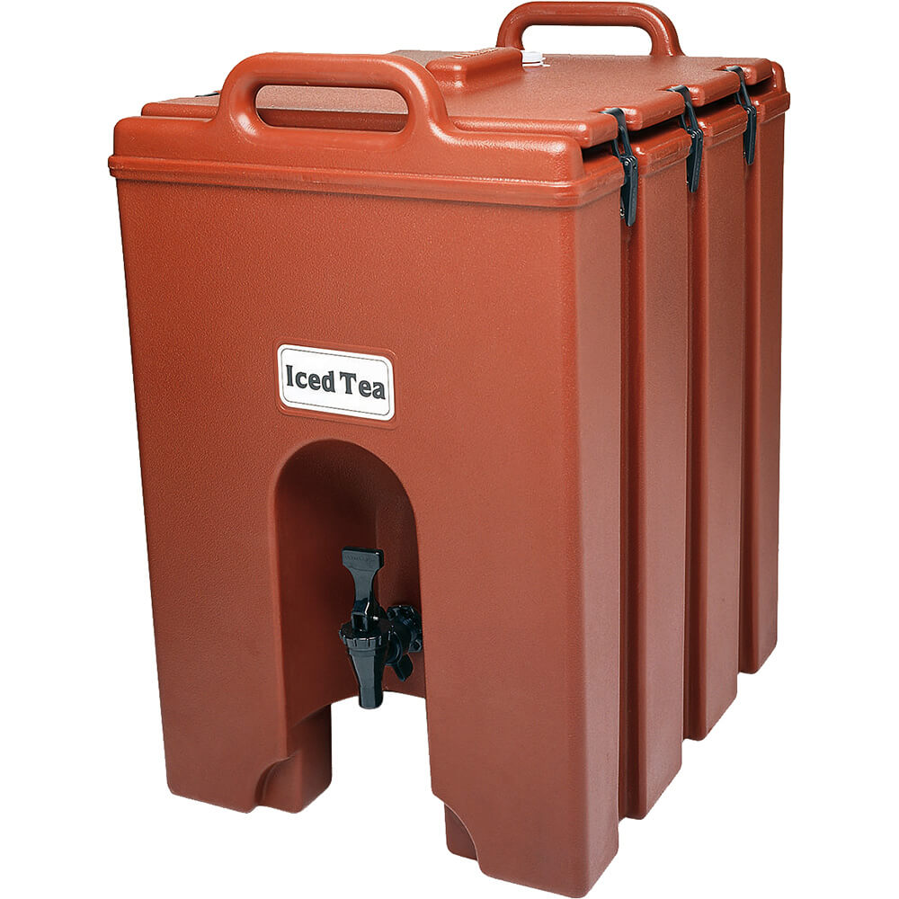 Brick Red, 11.75 Gal. Insulated Beverage Dispenser