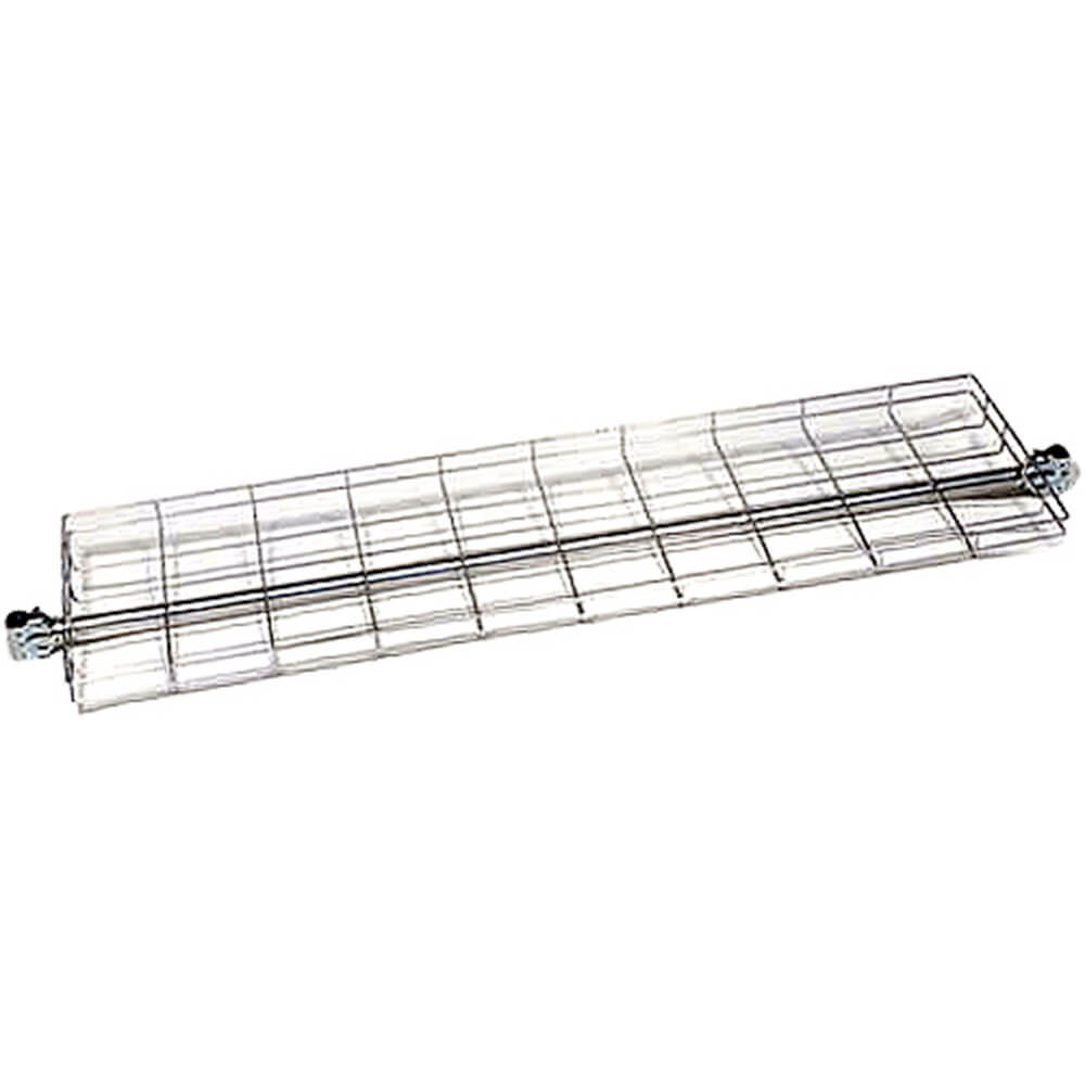 "Silver, 60"" Top Wire Shelf for Clothes Rack View 2"