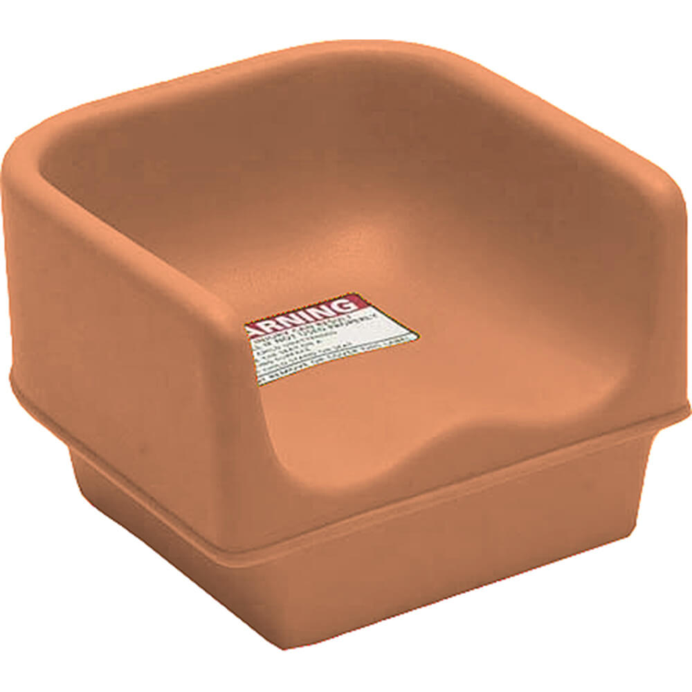 Cambro Coffee Beige Single Height Booster Seat No Strap