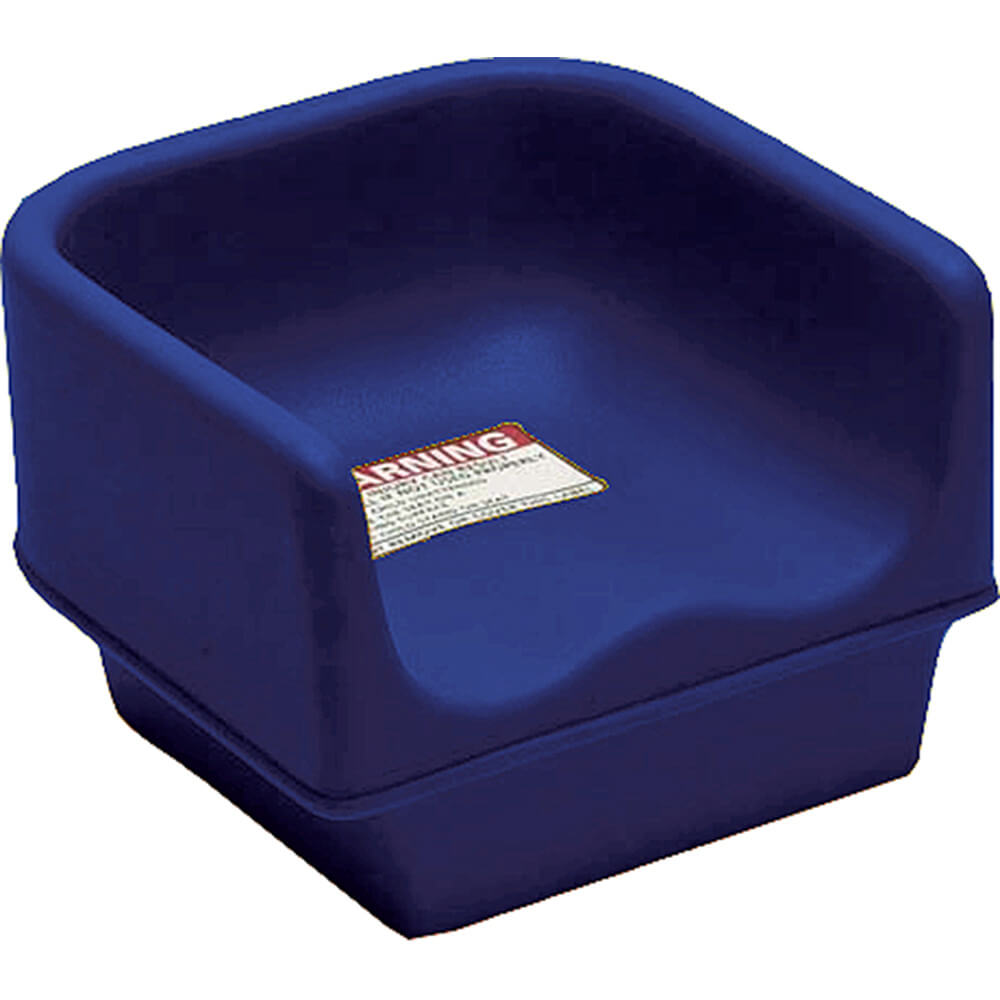 Navy Blue, Single Height Booster Seat, No Strap 1/PK