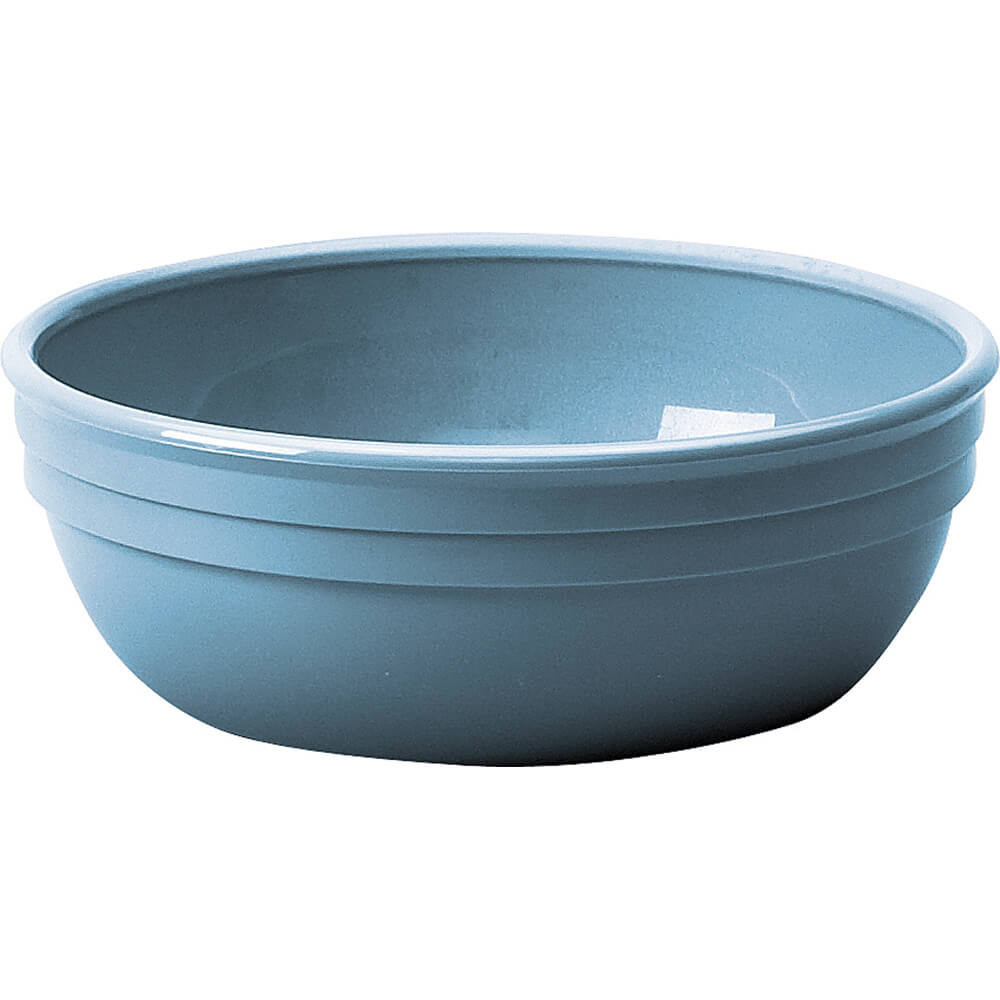"Slate Blue, 12.5 Oz. Round 5"" Nappie Bowl, 48/PK"