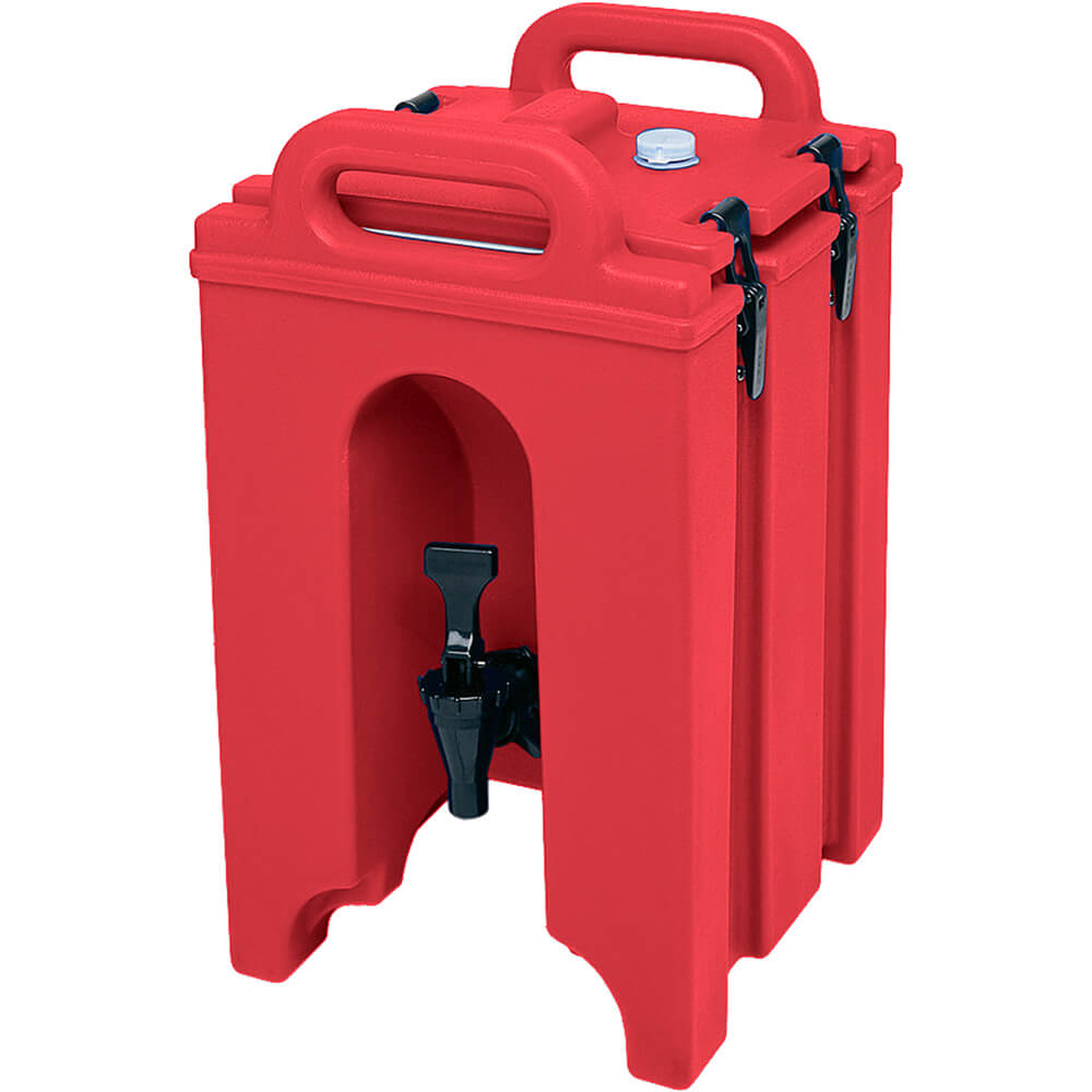 Hot Red, 1.5 Gal. Insulated Beverage Dispenser