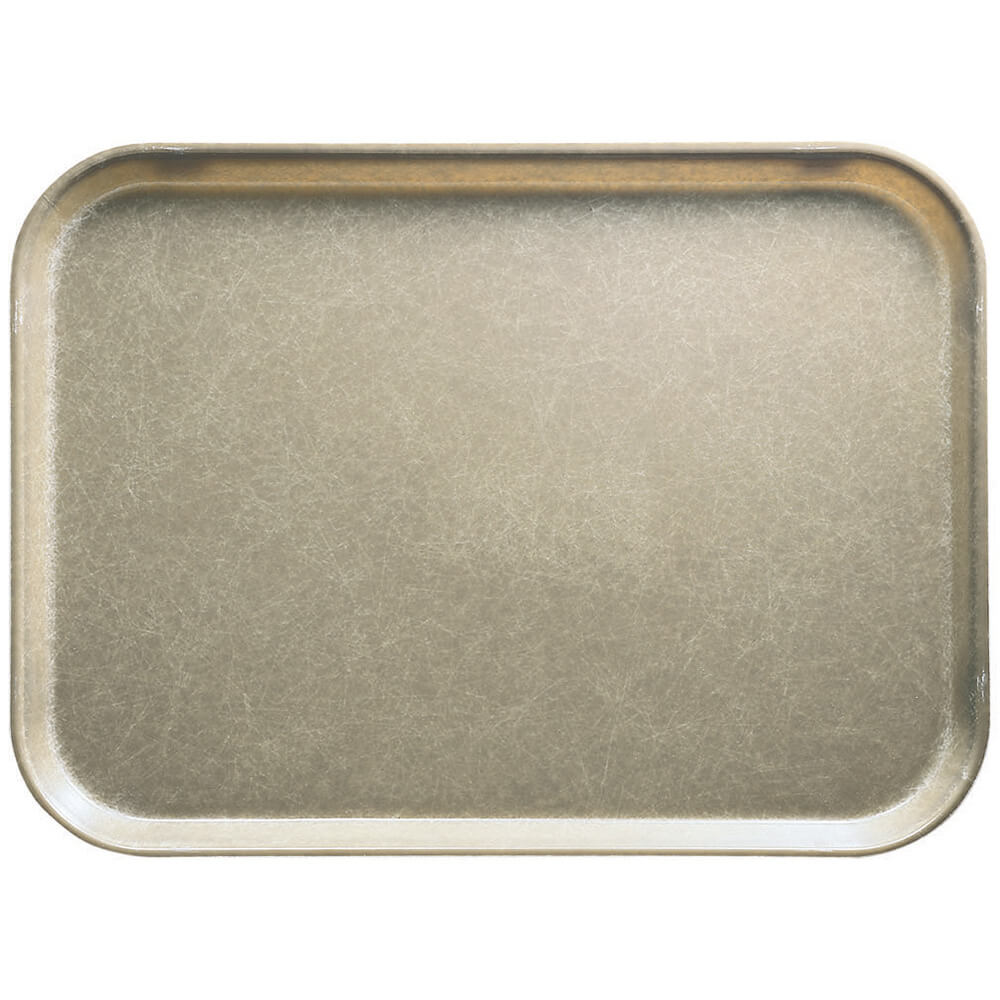 "Desert Tan, 10"" x 14"" Food Trays, Fiberglass, 12/PK"