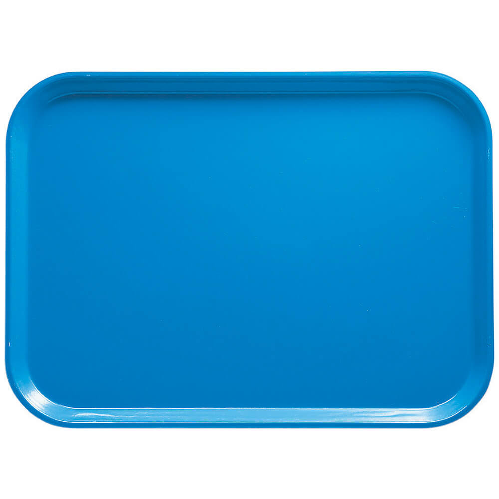 "Horizon Blue, 16.5"" x 22.5"" x 1-1/16"" Food Trays, Fiberglass, 12/PK"