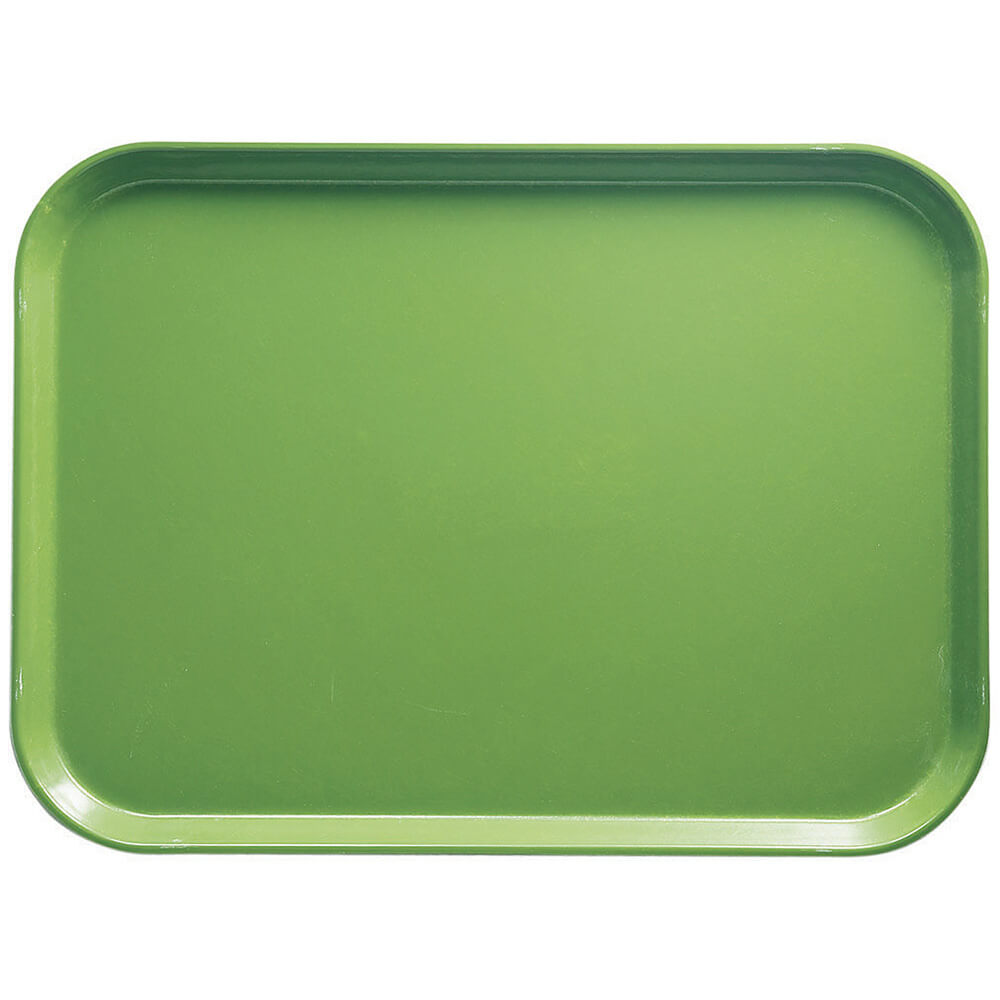 "Lime-Ade, 13"" x 18"" x 1-1/16"" Food Trays, Fiberglass, 12/PK"