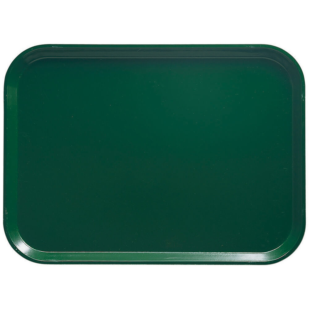 "Sherwood Green, 16.5"" x 22.5"" x 1-1/16"" Food Trays, Fiberglass, 12/PK"