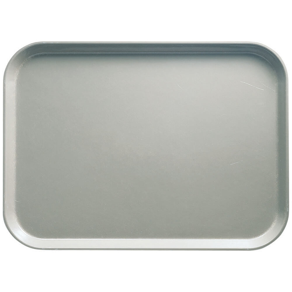 "Taupe, 10"" x 14"" Food Trays, Fiberglass, 12/PK"