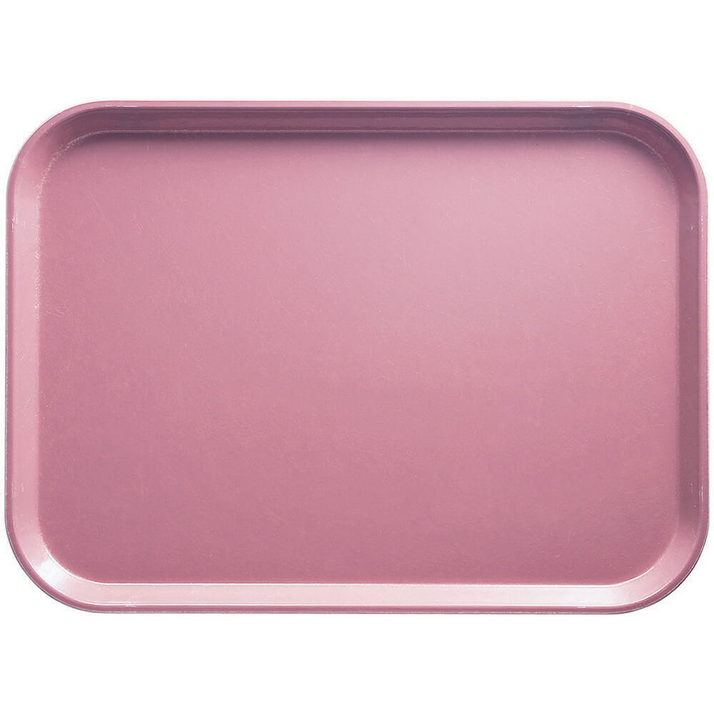 "Blush, 14"" x 18"" Food Trays, Fiberglass, 12/PK"