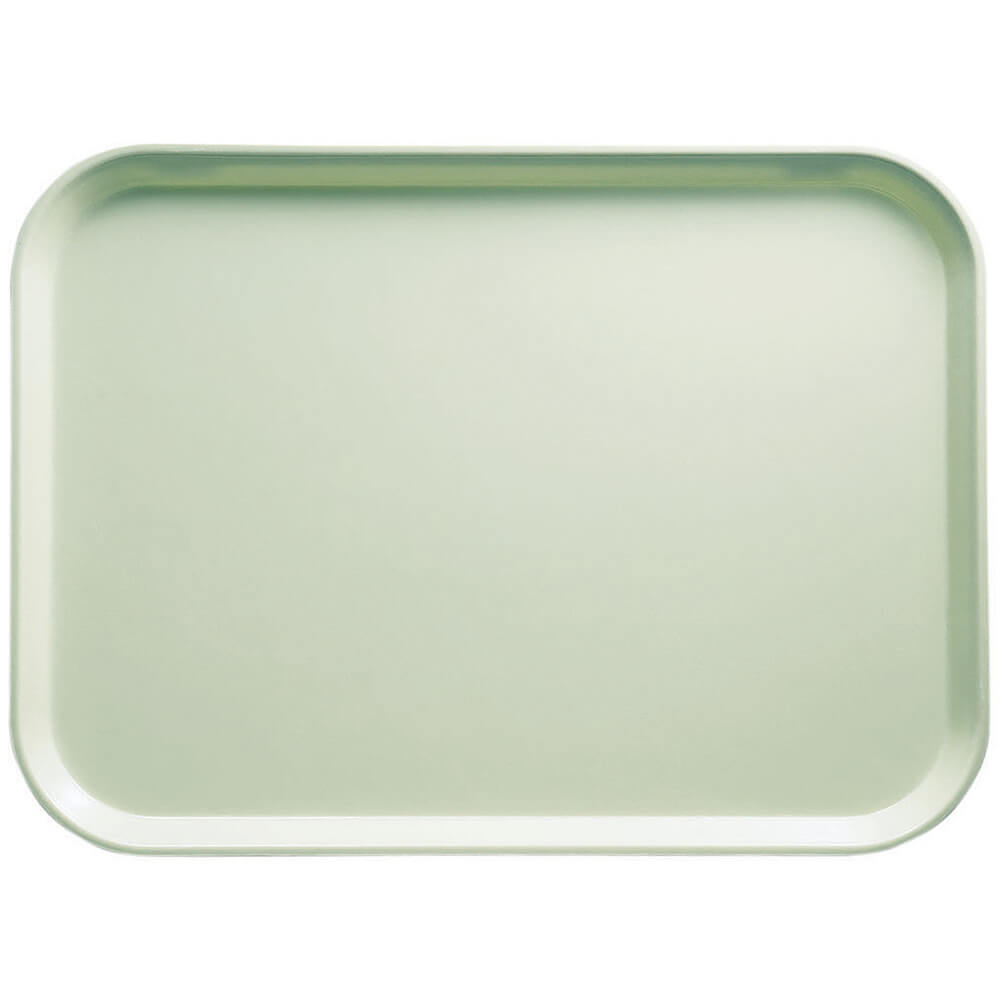 "Key Lime, 14"" x 18"" Food Trays, Fiberglass, 12/PK"