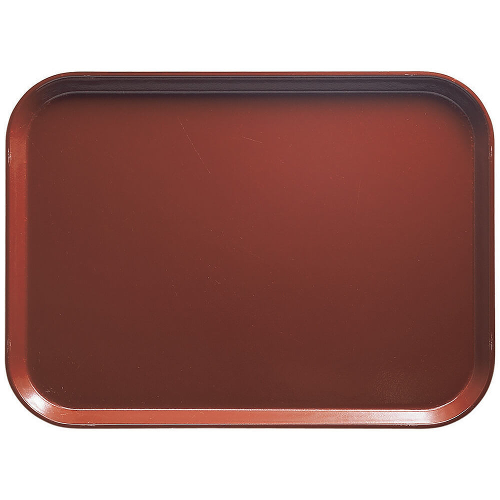"Real Rust, 11-13/16"" x 18-1/8"" (30x46 cm) Trays, 12/PK"