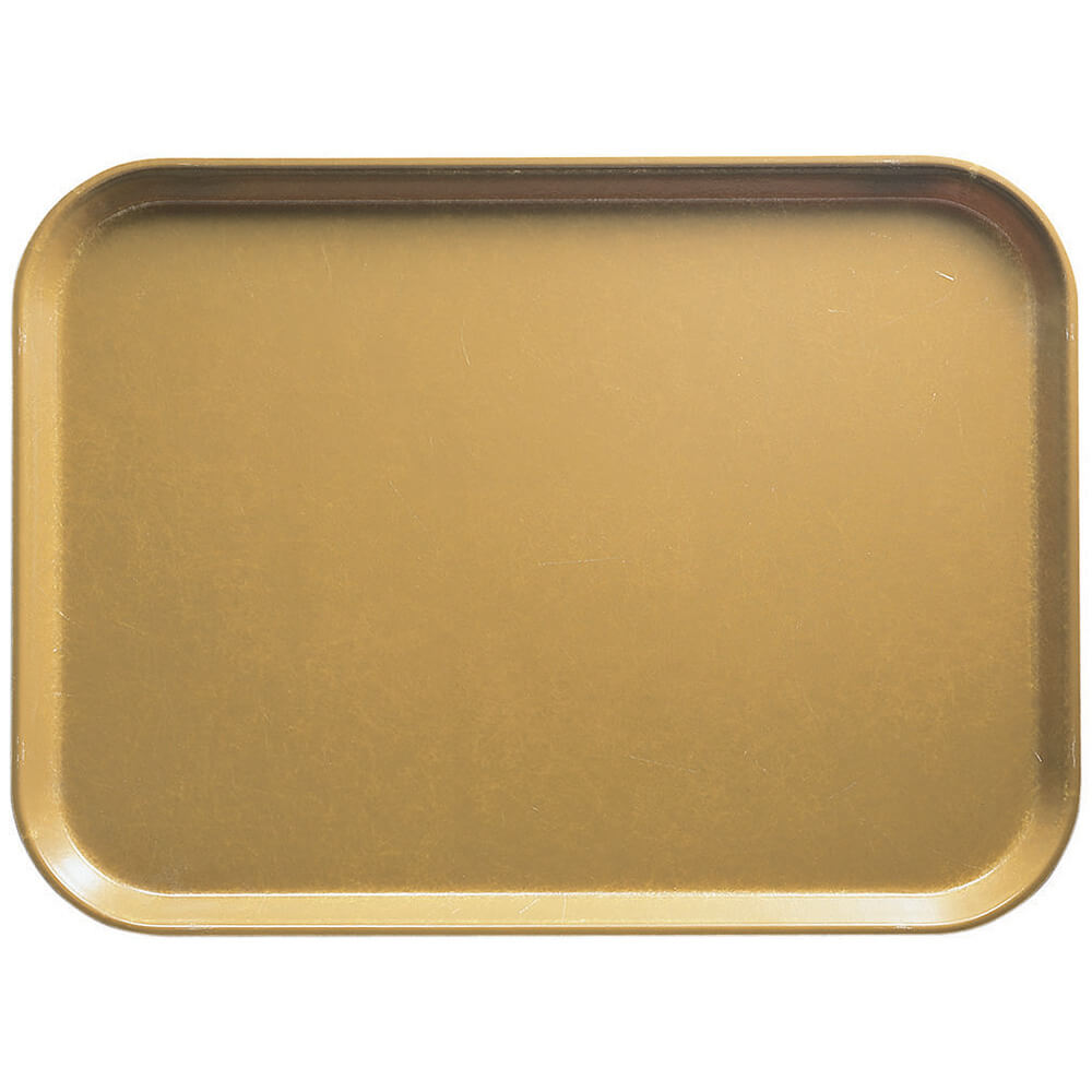 "Earthen Gold, 11-13/16"" x 18-1/8"" (30x46 cm) Trays, 12/PK"