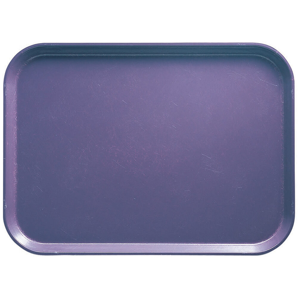 "Grape, 4-1/4"" x 6"" Food Trays, Fiberglass, 12/PK"