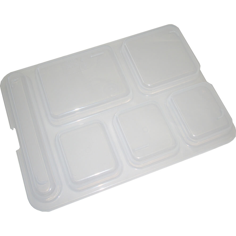 Translucent, Co-Polymer Lid, Fits 10146DCP Compartment Tray, 24/PK