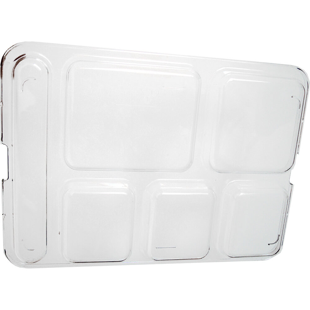 Clear, Polycarbonate Lid, Fits 10146DCW Compartment Tray, 24/PK