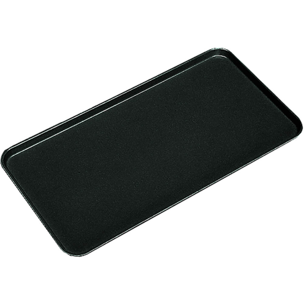 "Black, 10"" X 30"" x 3/4"" Deli / Bakery Display Trays, 12/PK"