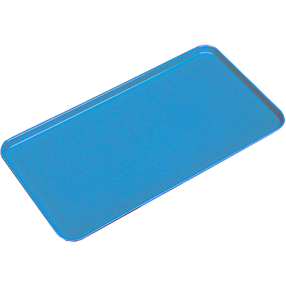 "Blue, 10"" X 30"" x 3/4"" Deli / Bakery Display Trays, 12/PK"
