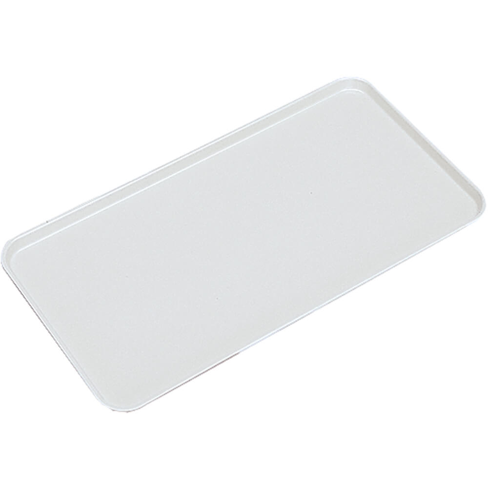 "White, 10"" X 30"" x 3/4"" Deli / Bakery Display Trays, 12/PK"