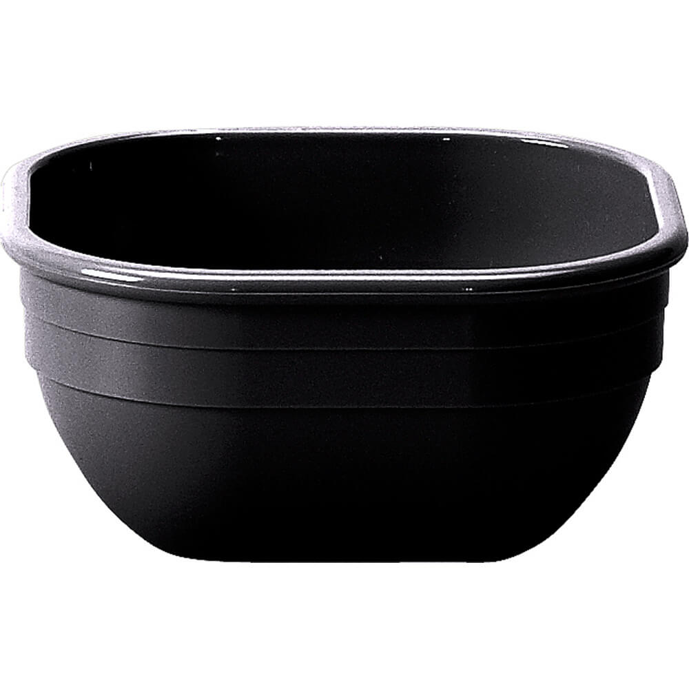 Black, 9.4 Oz. Square Bowl, 48/PK