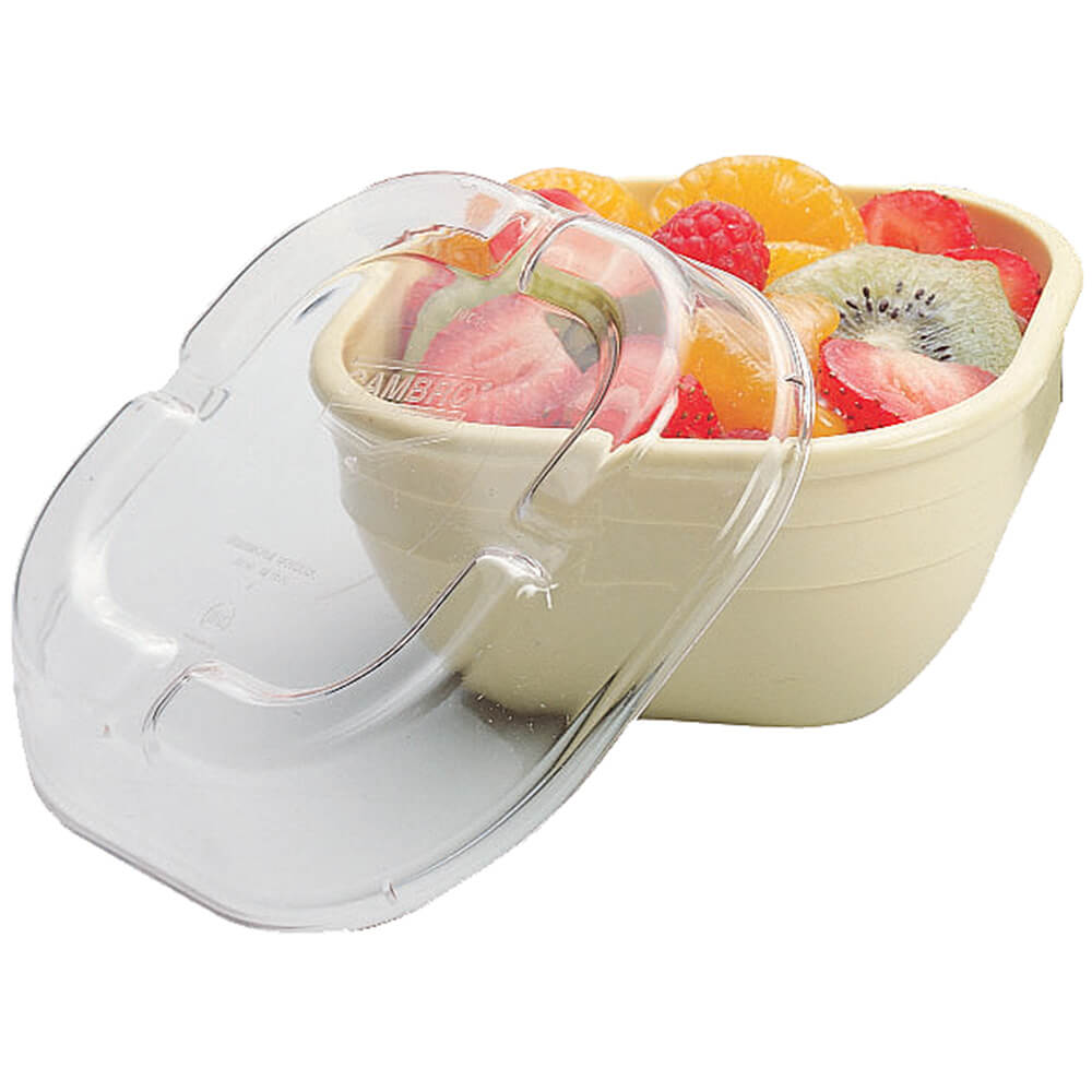 Clear, Lid for 10cw Bowls, 48/PK