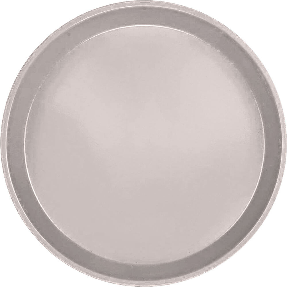 "Taupe, 12"" Round Serving Tray, Fiberglass, 12/PK"