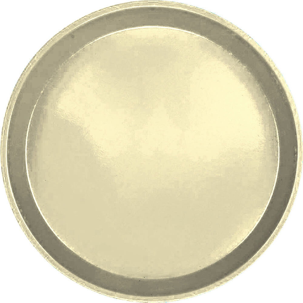 "Lemon Chiffon, 11"" Round Serving Tray, Fiberglass, 12/PK"