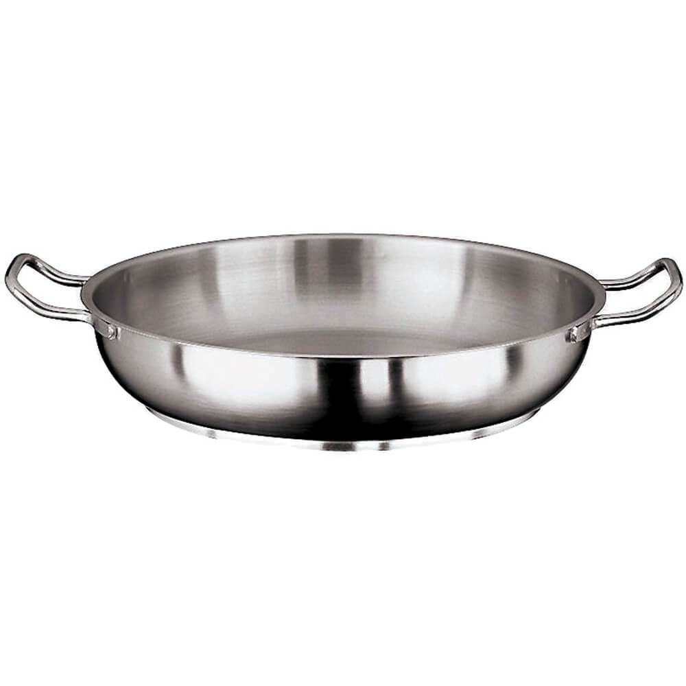 Stainless Steel Grand Gourmet #1100 Paella Pan, 14.12""