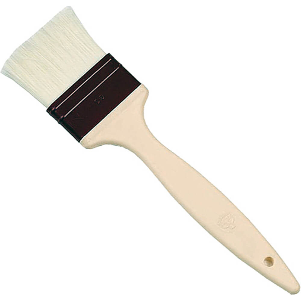 "Polyamide Fiber Basting Brush, 2.75"""