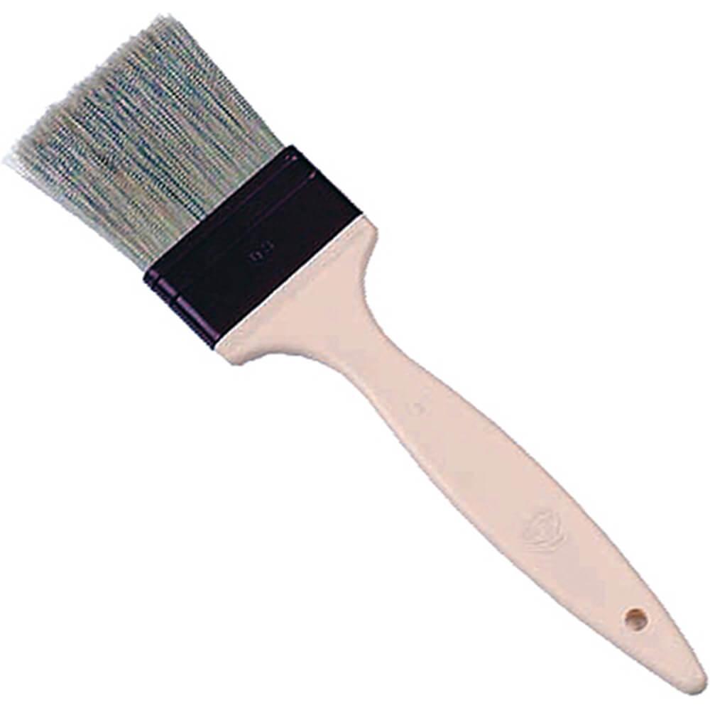 """Natural Bristles Flat Pastry Brush, 0.75"""""""