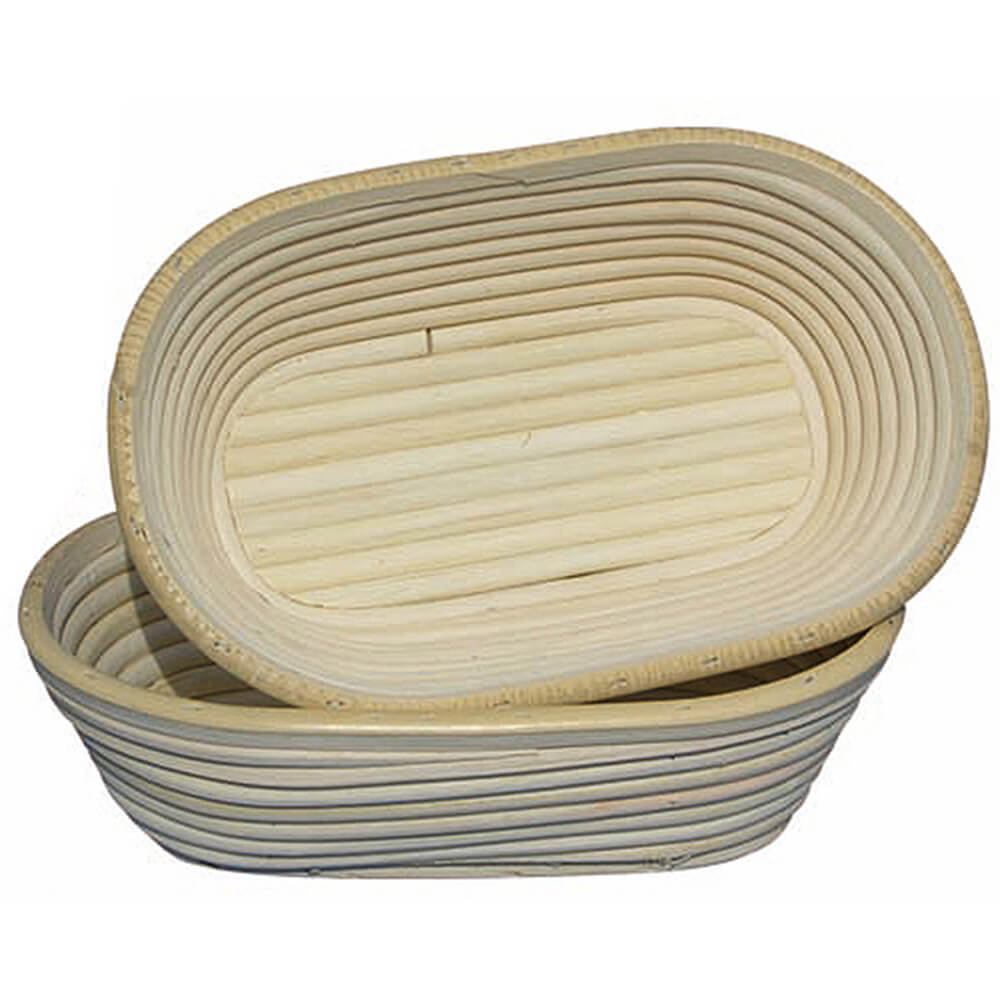 """Willow Oval Banneton Proofing Basket, 9.5"""""""