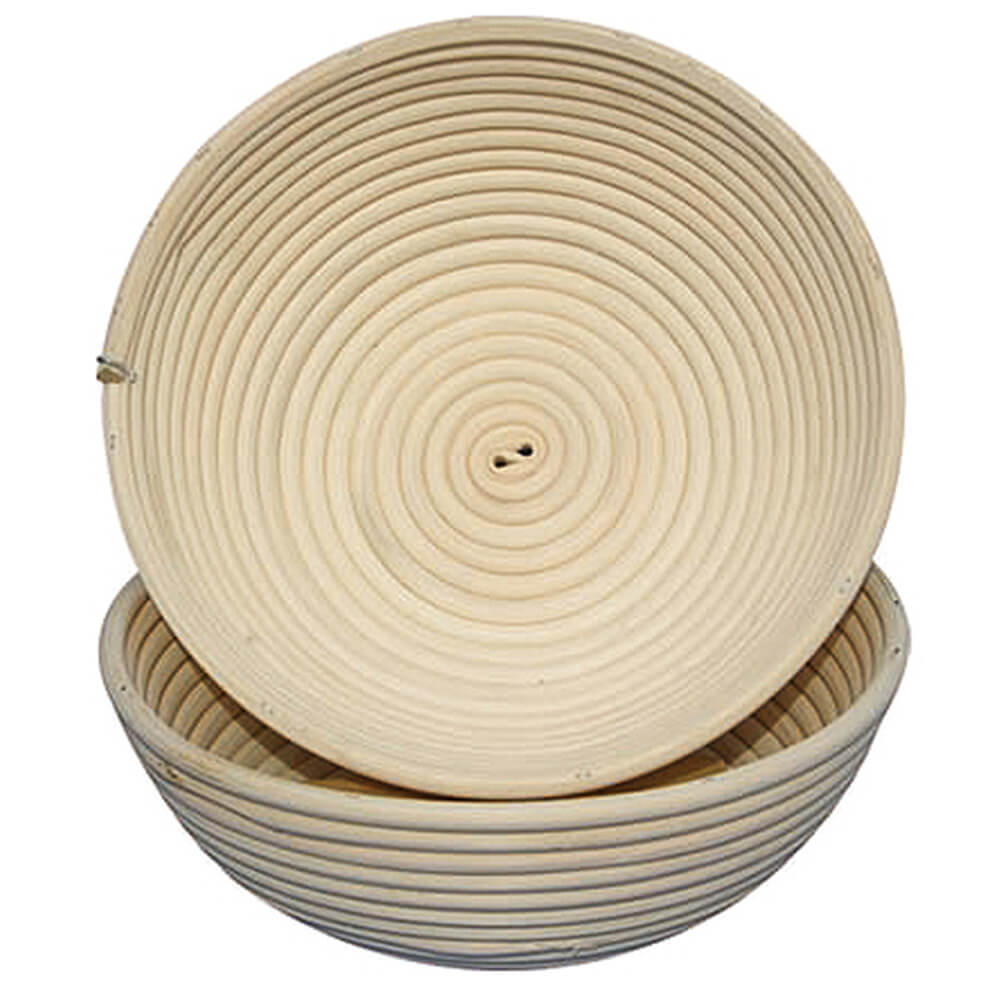 "Willow Round Banneton Proofing Basket, 10.25"""