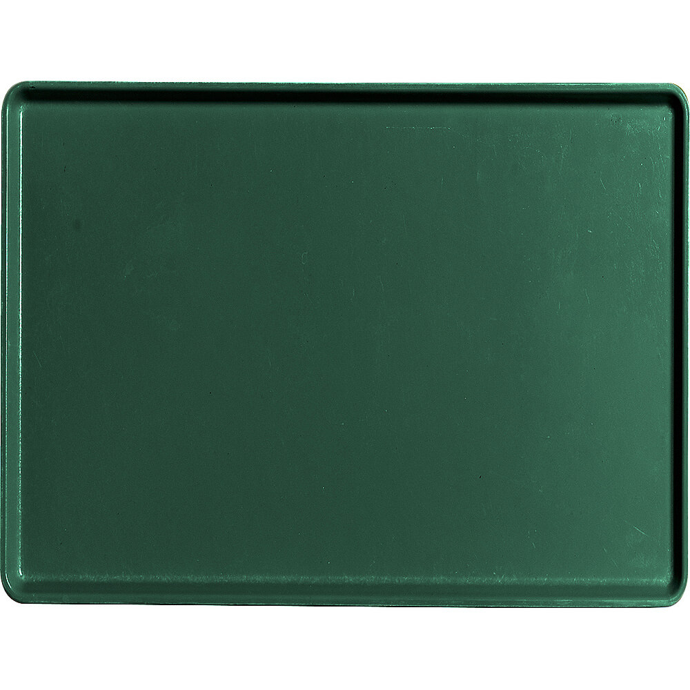"Sherwood Green, 12"" X 16"" Healthcare Food Trays, Low Profile, 12/PK"