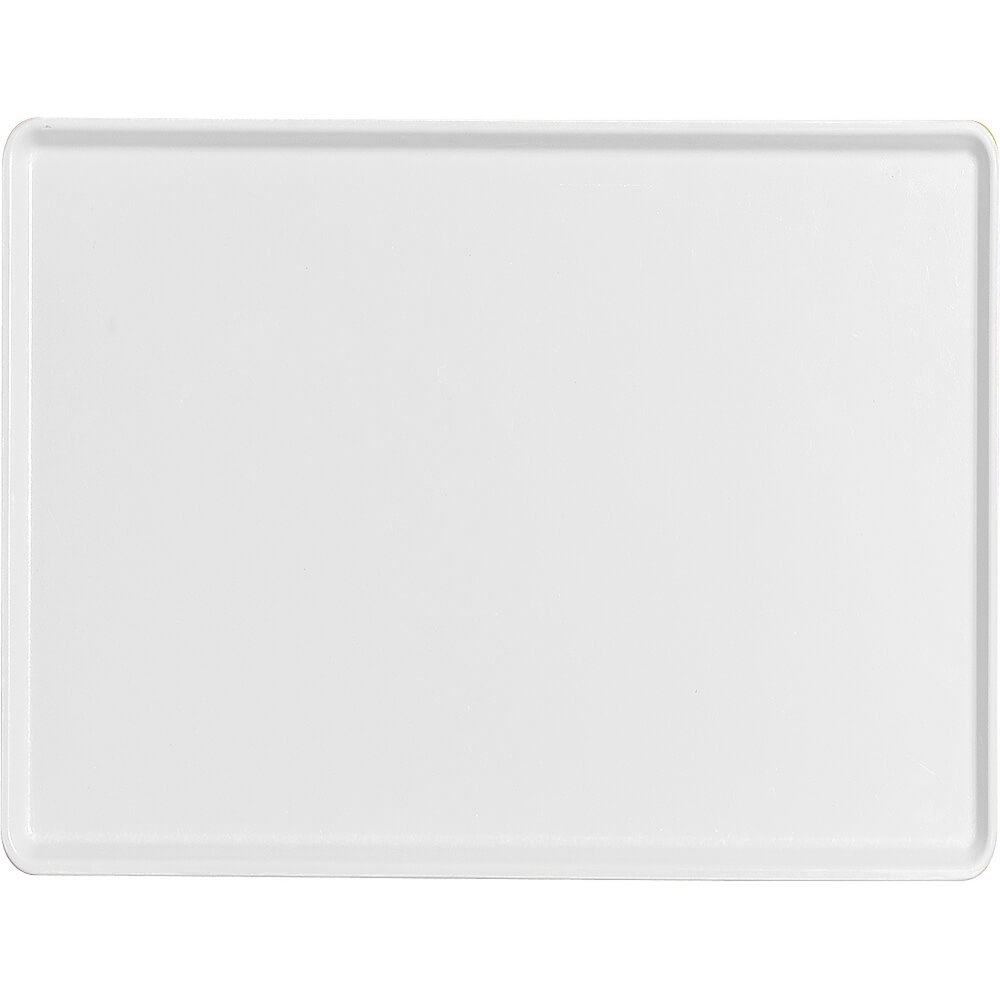"White, 12"" x 16"" Healthcare Food Trays, Low Profile, 12/PK"
