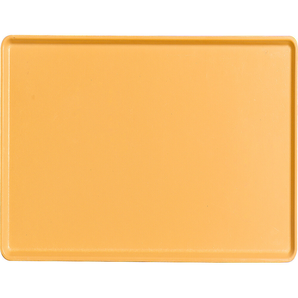 "Tuscan Gold, 12"" x 16"" Healthcare Food Trays, Low Profile, 12/PK"