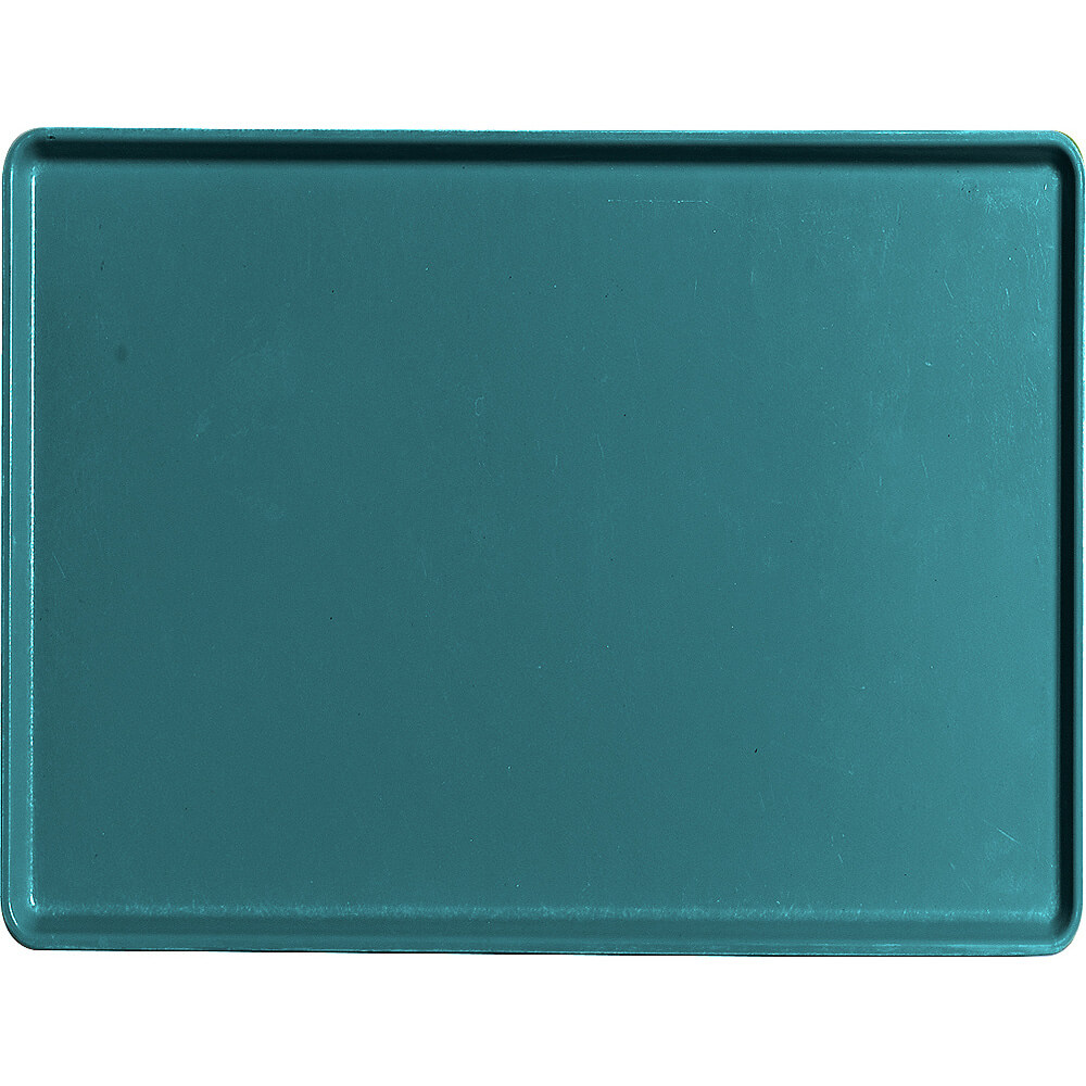 "Slate Blue, 12"" x 16"" Healthcare Food Trays, Low Profile, 12/PK"