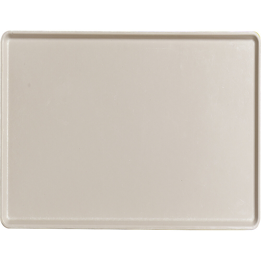 "Cottage White, 12"" x 16"" Healthcare Food Trays, Low Profile, 12/PK"