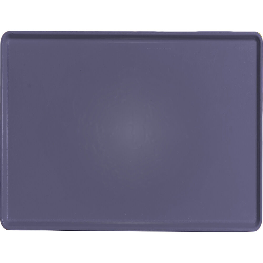 "Grape, 12"" x 16"" Healthcare Food Trays, Low Profile, 12/PK"