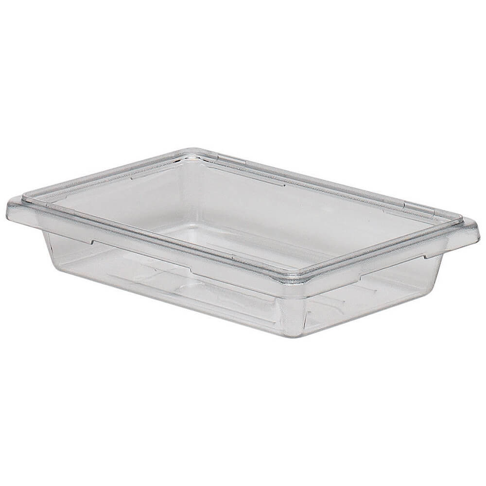 Clear, 1.75 Gal. Food Storage Boxes, Camwear, 6/PK