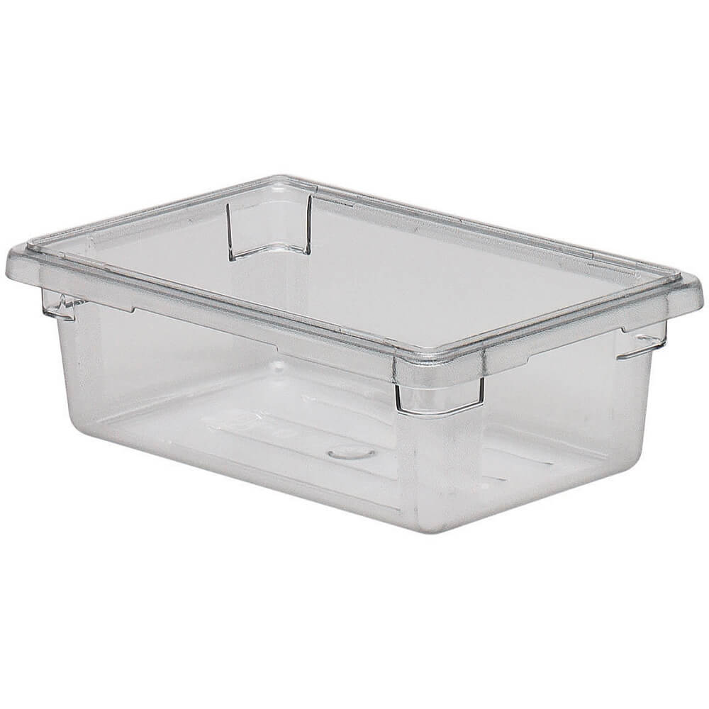 Cambro Clear 3 0 Gal Food Storage Boxes Camwear 6 Pk