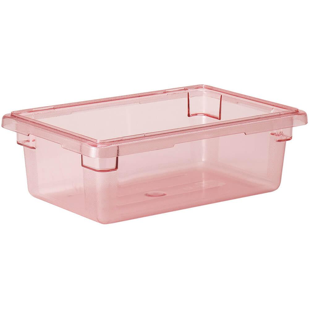 Safety Red, 3.0 Gal. Food Storage Boxes, Camwear, 6/PK
