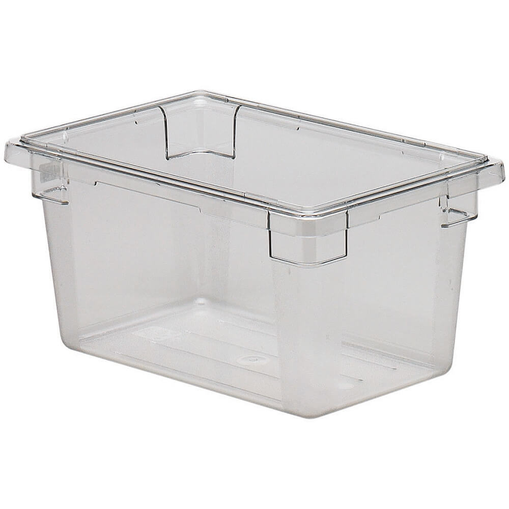 Clear, 4.75 Gal. Food Storage Boxes, Camwear, 6/PK
