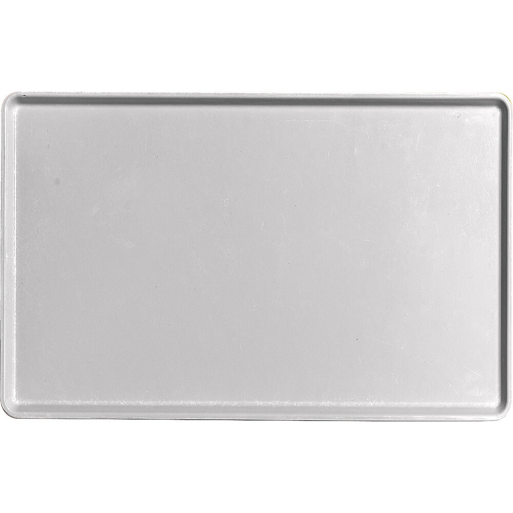"Pearl Gray, 12"" x 19"" Healthcare Food Trays, Low Profile, 12/PK"