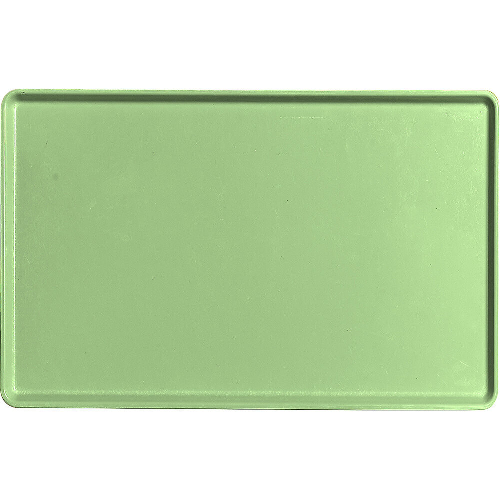"Lime-Ade, 12"" x 19"" Healthcare Food Trays, Low Profile, 12/PK"