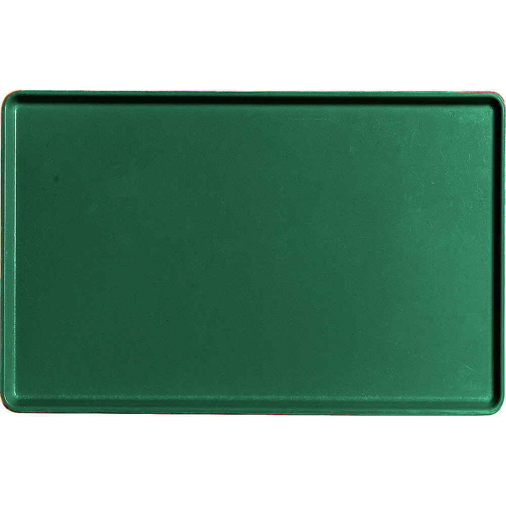 "Sherwood Green, 12"" x 19"" Healthcare Food Trays, Low Profile, 12/PK"