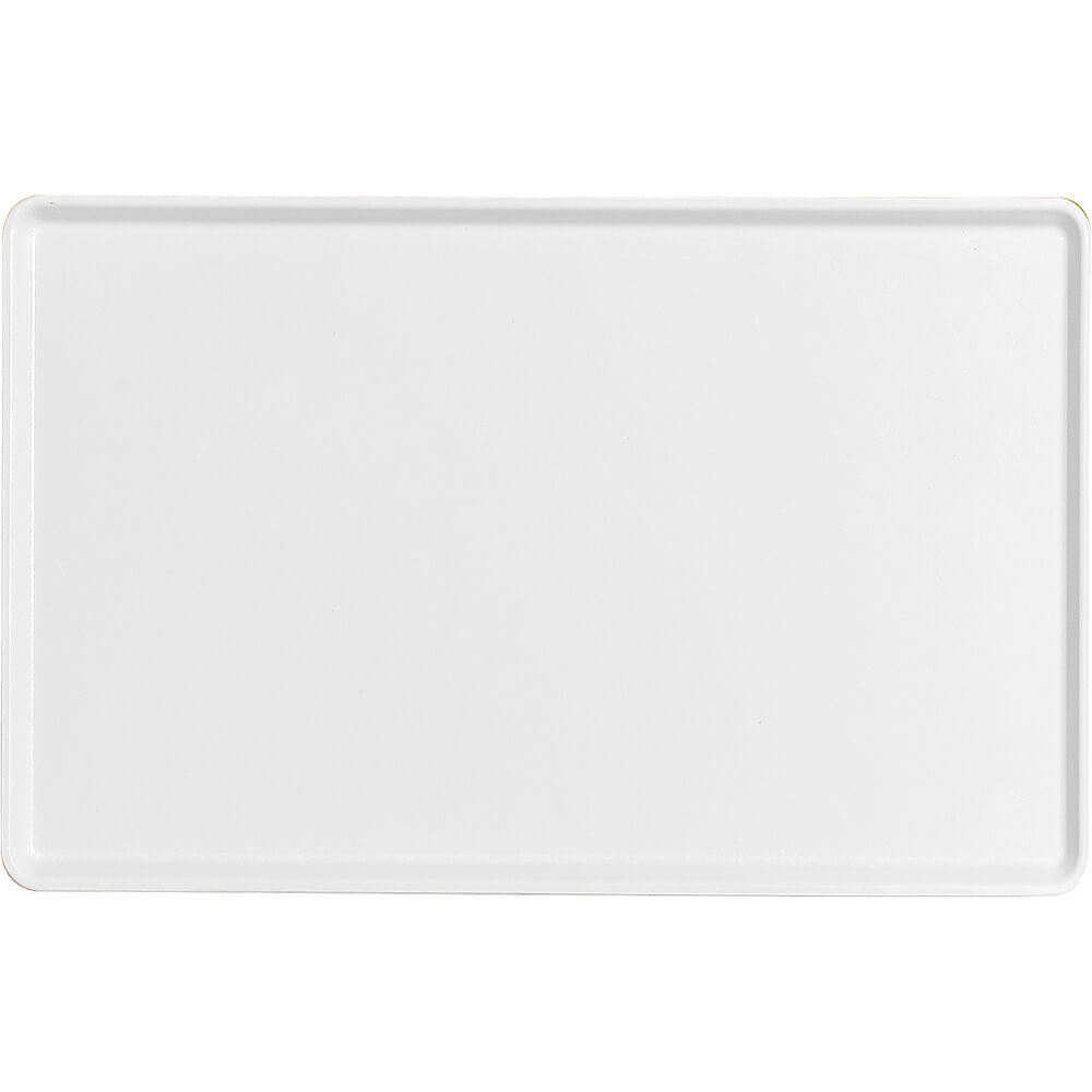 "White, 12"" x 19"" Healthcare Food Trays, Low Profile, 12/PK"