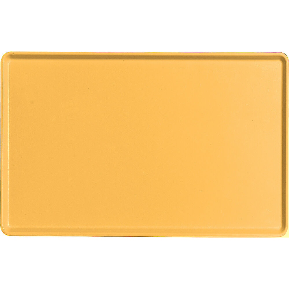 "Tuscan Gold, 12"" x 19"" Healthcare Food Trays, Low Profile, 12/PK"