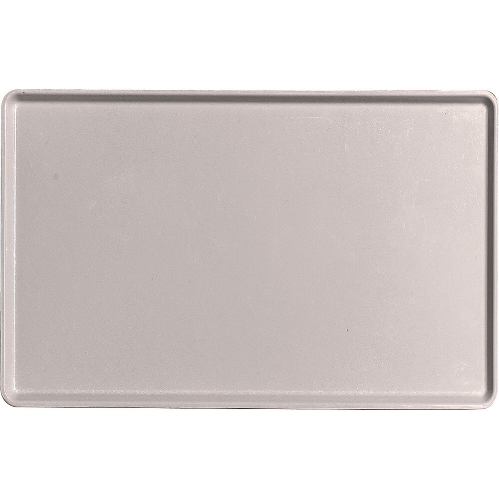 "Taupe, 12"" x 19"" Healthcare Food Trays, Low Profile, 12/PK"
