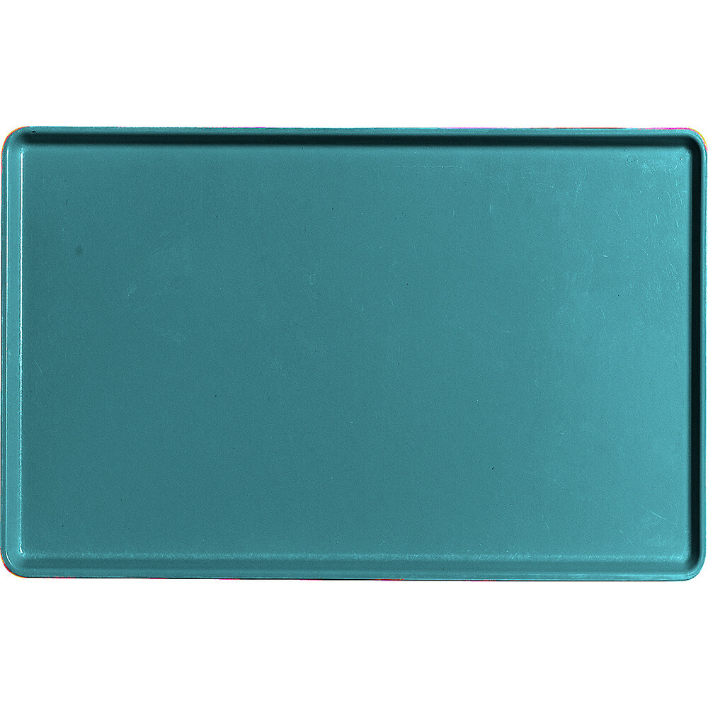 "Slate Blue, 12"" x 19"" Healthcare Food Trays, Low Profile, 12/PK"