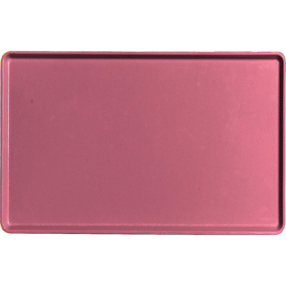 "Raspberry Cream, 12"" x 19"" Healthcare Food Trays, Low Profile, 12/PK"