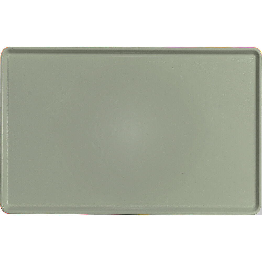 "Olive Green, 12"" x 19"" Healthcare Food Trays, Low Profile, 12/PK"